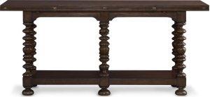 Sussex Flip Top Console Table (Castile)
