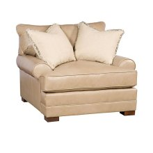 Casbah Leather Chair & 1/2