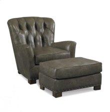L3161-O1 Leather Ottoman