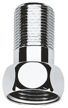 "Straight union (1 1/4"" with 1 1/2"" nut)"