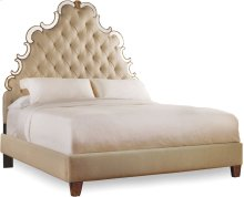 Sanctuary Queen Tufted Bed - Bling
