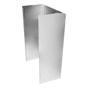 WhirlpoolWall Hood Chimney Extension Kit, 9ft -12 ft. - Stainless Steel Stainless Steel