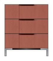 "28"" 3-Drawer Bedside Chest Product Image"
