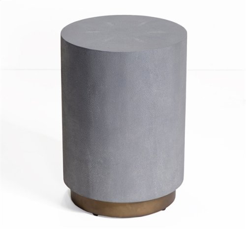 Kenzo Shagreen Drum Table