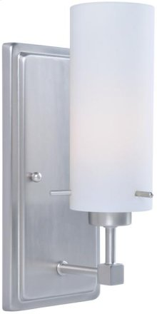 Wall Lamp, Ps/frost Glass Shade, E27 Type A 60w