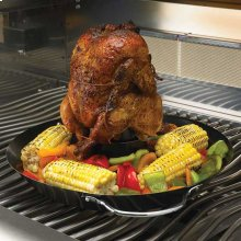 Wok & Beer Can Chicken Roaster