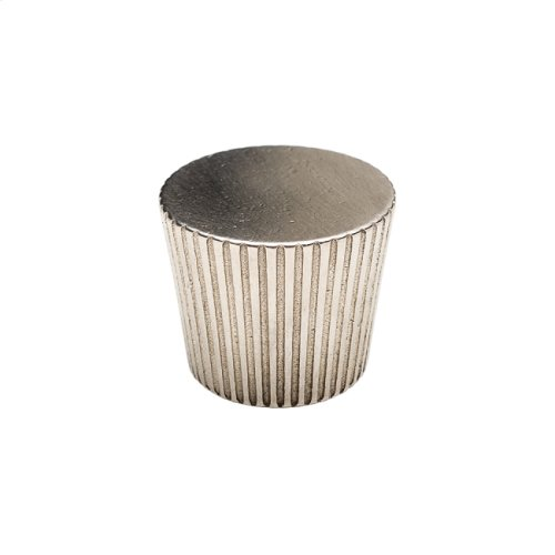 Flute Taper Knob - CK10032 White Bronze Brushed