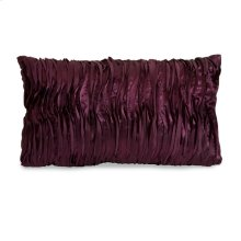 Coralin Purple Wave Fabric Pillow