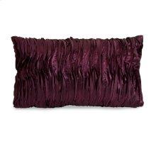 Coralin Purple Wave Fabric Pillow
