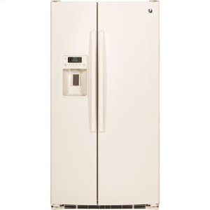 GE® ENERGY STAR® 25.3 Cu. Ft. Side-By-Side Refrigerator - BISQUE