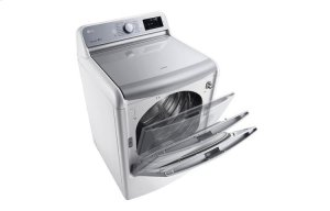 9.0 cu.ft. Mega Capacity TurboSteam Dryer with EasyLoad Door