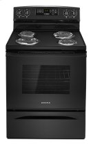 Amana® 30-inch Electric Range with Self-Clean Option - Black Product Image