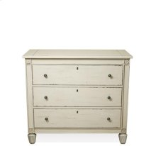 Huntleigh Bachelor Chest Vintage White finish