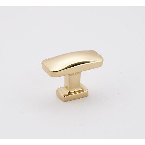 """CLOUD 1 1/2"""" KNOB A252-38 - Polished Brass"""