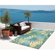 Home & Garden Rs022 Bl Rectangle Rug 4'3'' X 6'3''