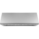 "DacorHeritage 48"" Epicure Wall Hood, 18"" High, Silver Stainless Steel"