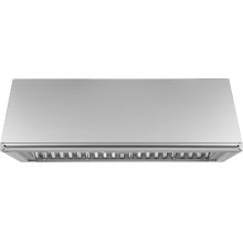 "Heritage 48"" Epicure Wall Hood, 12"" High, Silver Stainless Steel"