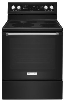 30-Inch 5-Element Electric Convection Range - Black
