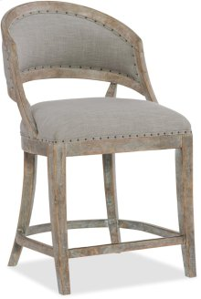 Boheme Garnier Barrel Back Counter Stool