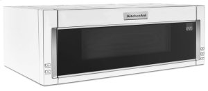 1000-Watt Low Profile Microwave Hood Combination with PrintShield Finish - White