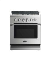 "30"" Dual Fuel Range: 4 Burners Product Image"