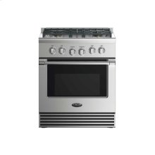 "30"" Dual Fuel Range: 4 Burners"