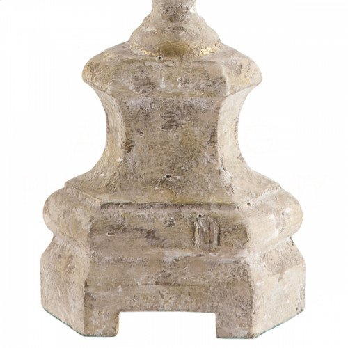 Roma Cathedral White Candlestick