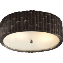 Visual Comfort AH4005GM-FG Alexa Hampton Frank 3 Light 15 inch Gun Metal Flush Mount Ceiling Light