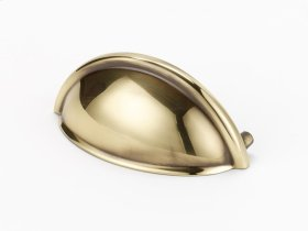 Cup Pulls A1350 - Polished Antique