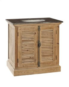 Louvered Door Vanity Product Image