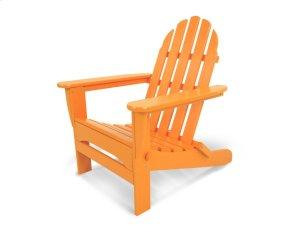 Tangerine Classic Folding Adirondack