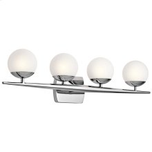 Jasper Collection Jasper 4 Light Halogen Bath Light in CH