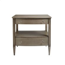 Oasis-Mulholland Nightstand in Grey Birch