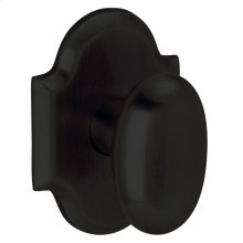 Satin Black 5024 Oval Knob