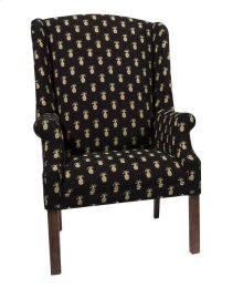 Chair with Oak Chippendale legs