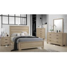 King 5 Piece Set (King BED,NS,DR,MR,CH)