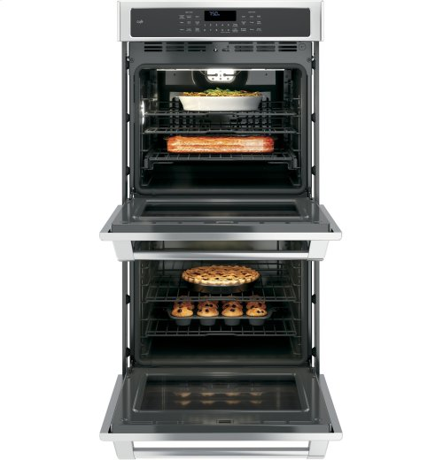 "GE Cafe™ Series 27"" Built-in Double Wall Oven with Convection"