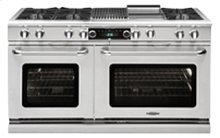 "Connoisseurian Series 60"" Dual Fuel Self Clean Range"