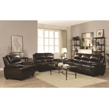 Gryffin Brown Motion Two-piece Living Room Set
