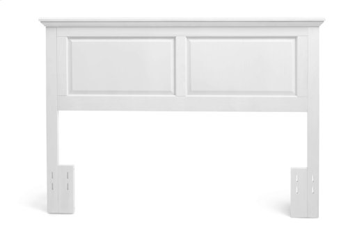 Full/Queen Cottage Style Headboard in Gloss White Finish