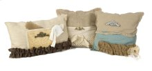 Teft Burlap Pillow - Set of 3