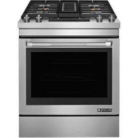 """30"""" Dual-Fuel Downdraft Range, Pro Style Stainless"""