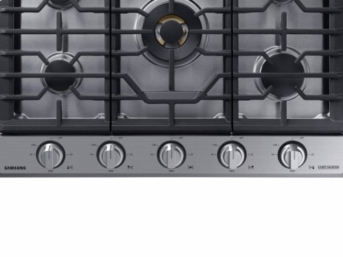"36"" Gas Chef Collection Cooktop with 22K BTU Dual Power Burner"
