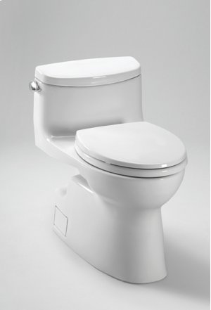 Colonial White Carolina® II One-Piece High-Efficiency Toilet, with SanaGloss, 1.28GPF