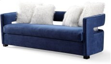 Kennedy Navy Velvet Sofa Product Image