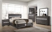 4pc Grey Bedroom Set Product Image