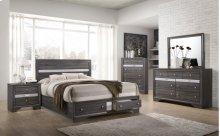 4pc Grey Bedroom Set