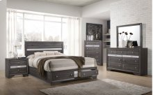 4pc Grey Bedroom Set