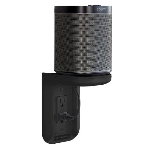 Black SANUS Outlet Shelf