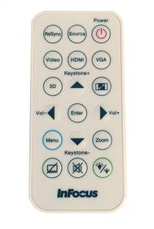 Replacement Remote for Select InFocus Projectors